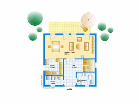 Stadtvilla Swing 79 - Sonderplanung - Schwabenhaus Grundriss EG