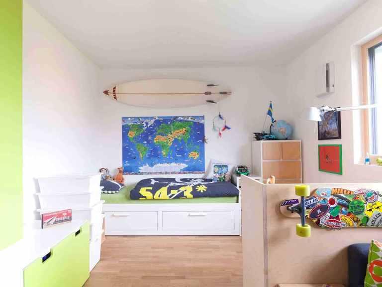 Mehrfamilienhaus Falchengraben - Baufritz Kinderzimmer
