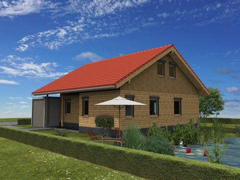 einfamilienhaus klassisch kompakt zimmerei walter brunthaler rk. Black Bedroom Furniture Sets. Home Design Ideas