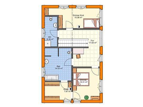 Einfamilienhaus mit zwei Vollgeschossen OG - Zimmerei Walter Brunthaler