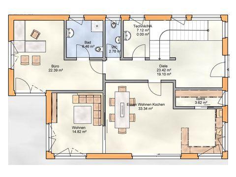Einfamilienhaus 220 EG - Zimmerei Walter Brunthaler