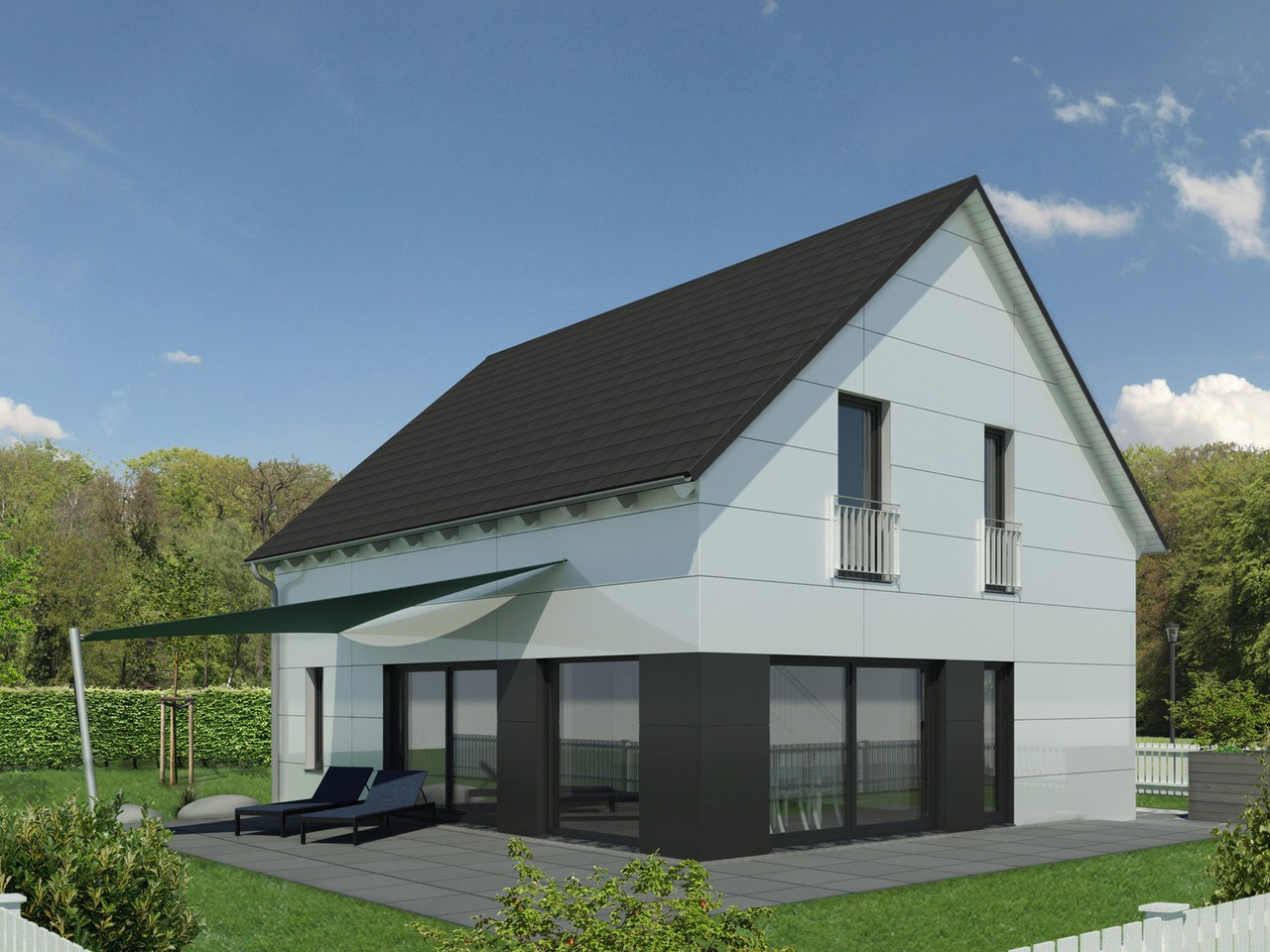 Einfamilienhaus Chausseestraße 132 - Ansicht 2