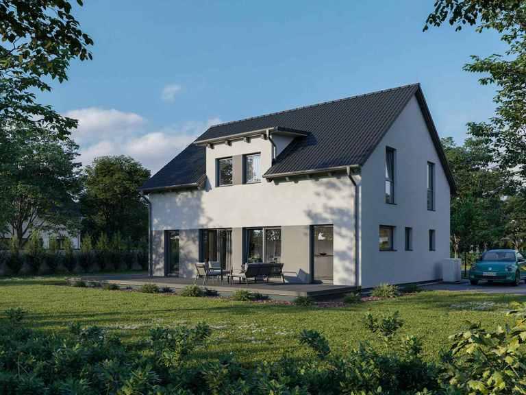 Einfamilienhaus Chausseestraße 148 Südseite
