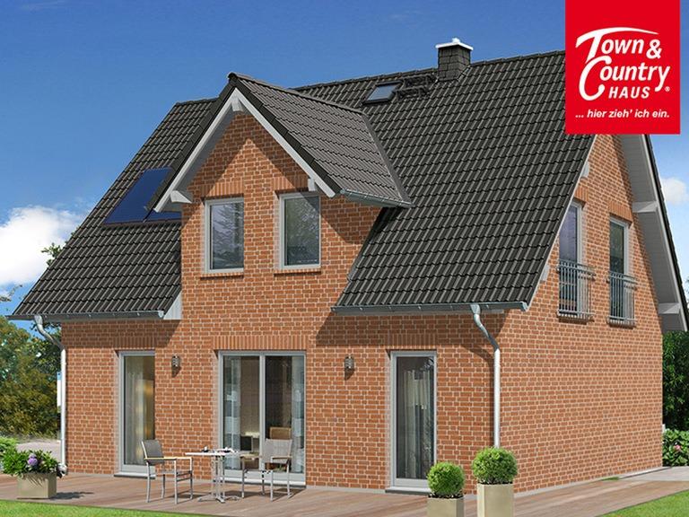 Einfamilienhaus Flair 125 mit Klinker - VODIES Massivhaus