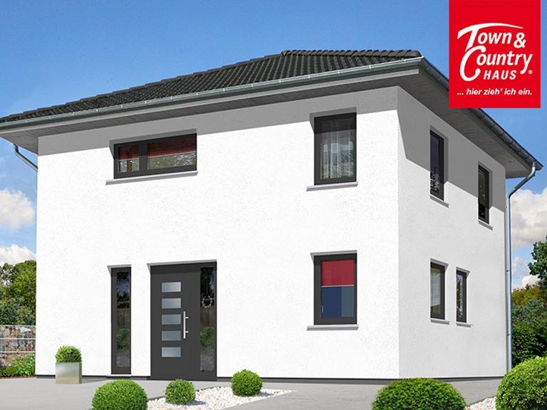Stadthaus Flair 124 Variante 2 - VODIES Massivhaus