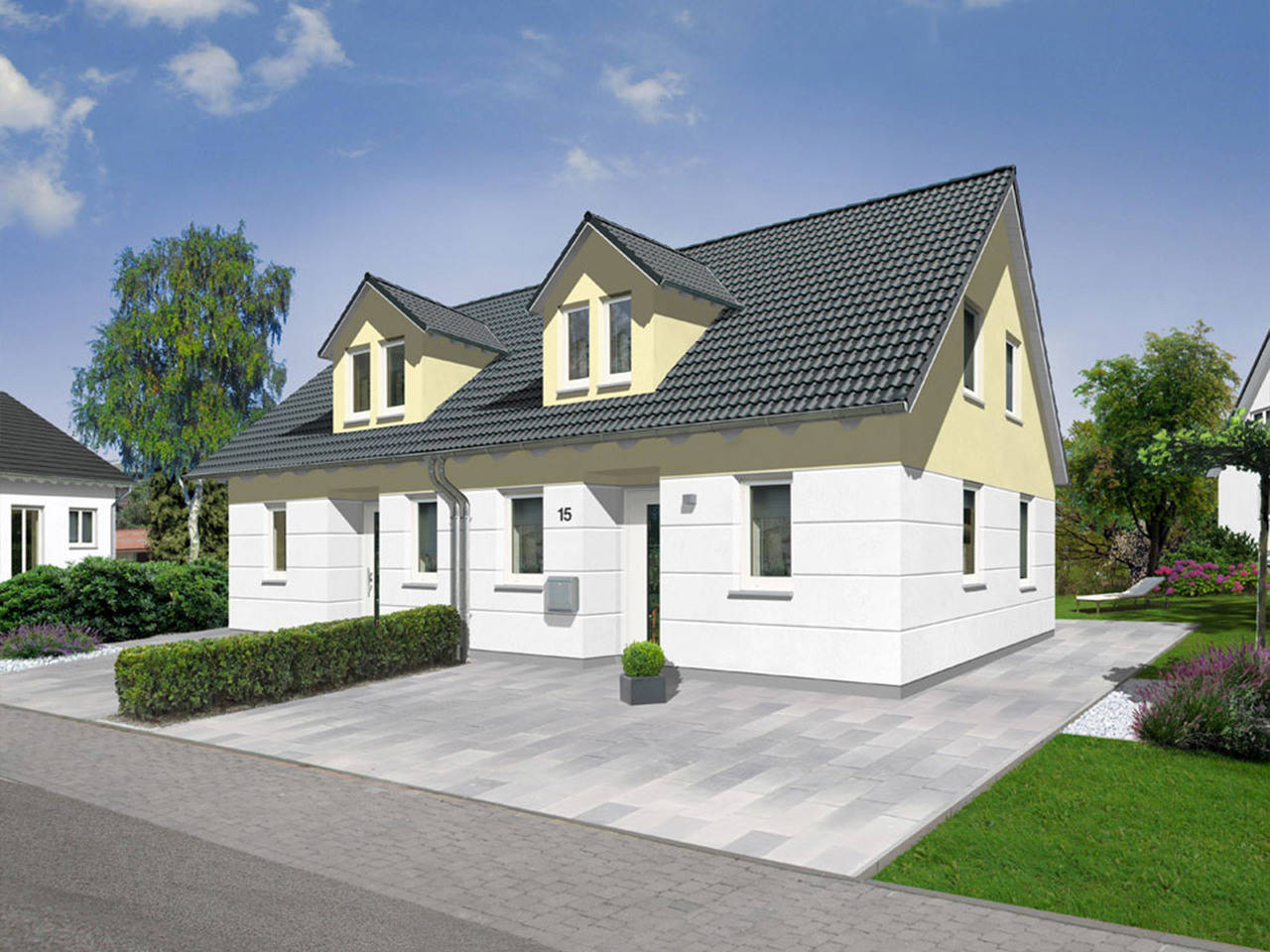 Doppelhaus Duett 115 Trend a2