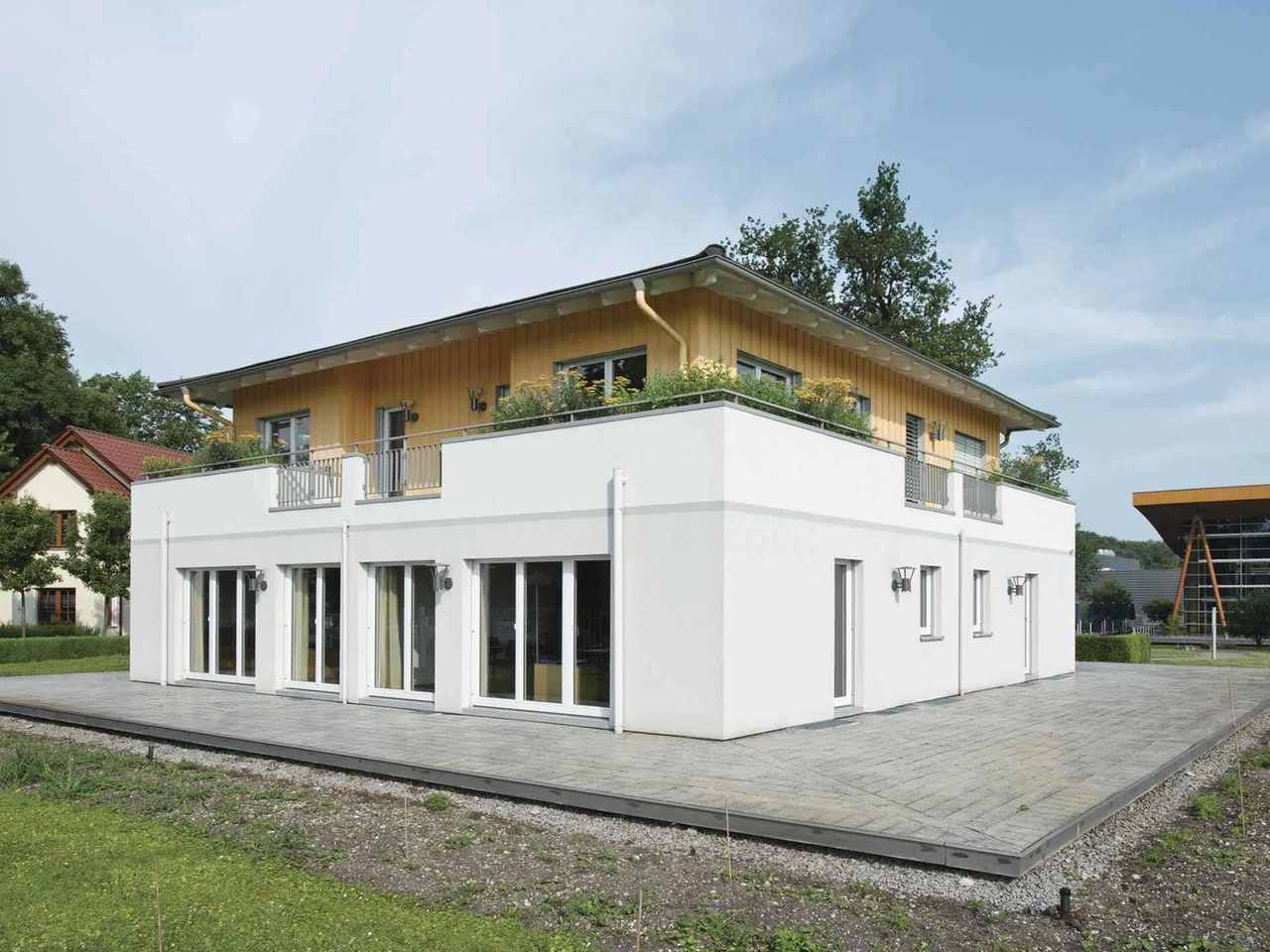 Stadtvilla Bauforum Rheinau-Linx - WeberHaus