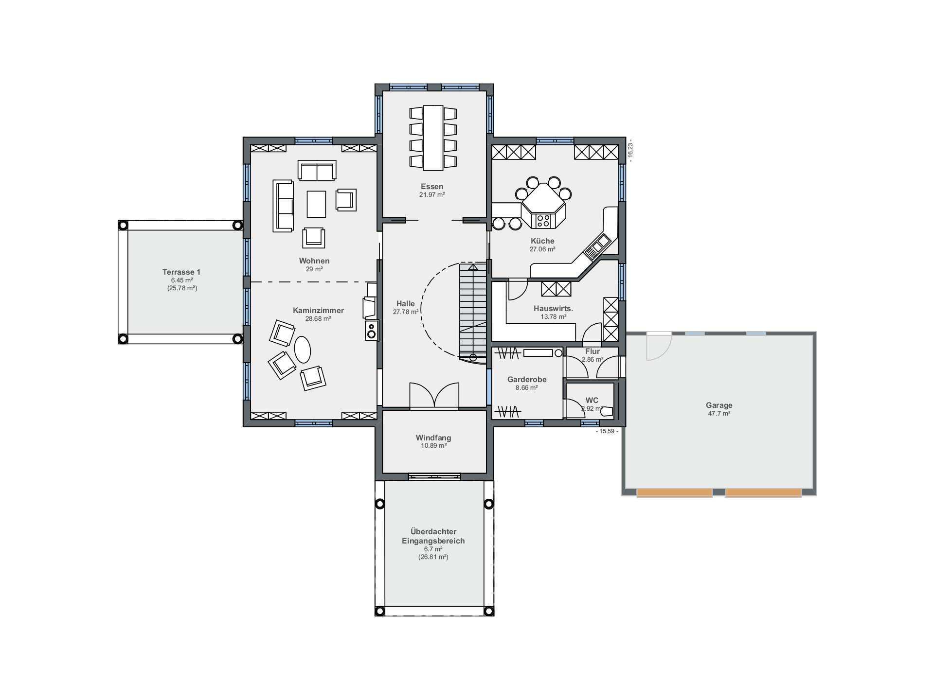 traumvilla bauforum rheinau linx weberhaus. Black Bedroom Furniture Sets. Home Design Ideas