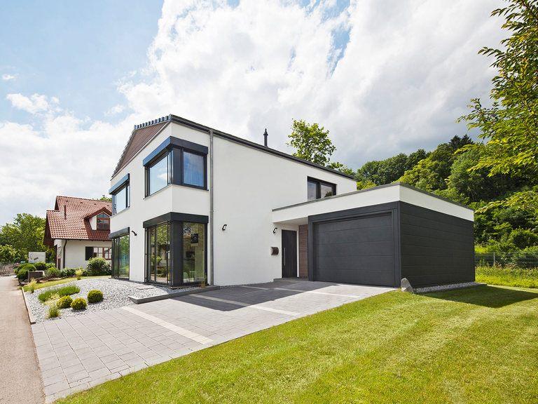 Lehner Haus Musterhaus Ulm Seitenansicht