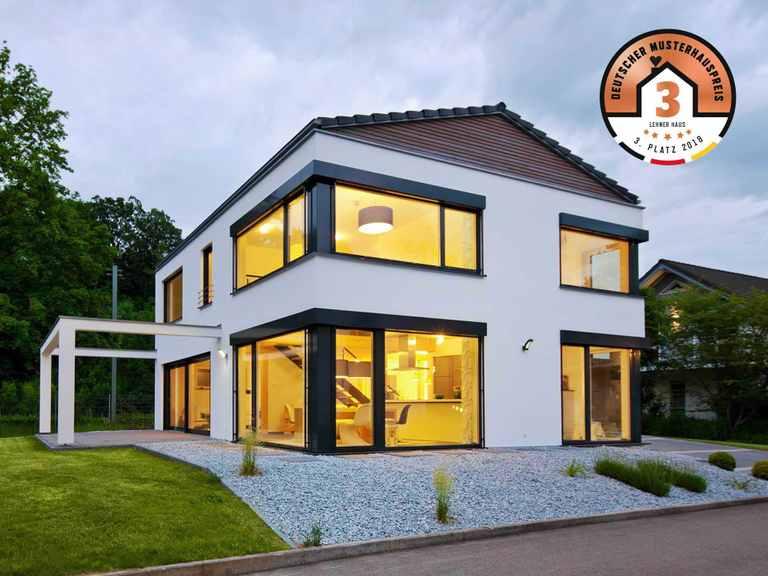 Kategorie Einfamilienhaus Platz 3 Musterhaus Ulm