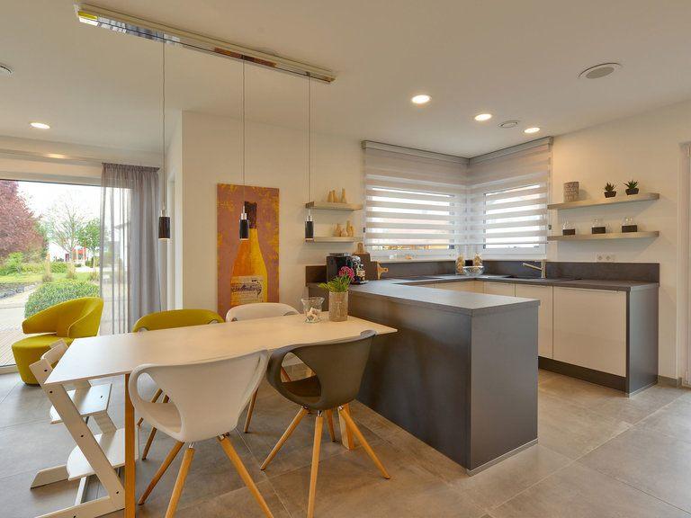Offene Küche Musterhaus Sunshine 143