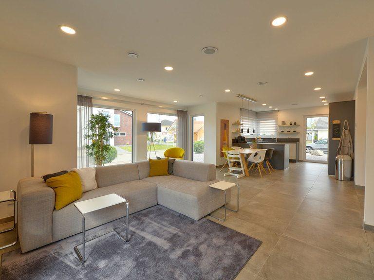 Wohnzimmer Musterhaus Sunshine 143