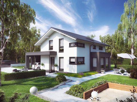 Living Fertighaus - Musterhaus Sunshine 143