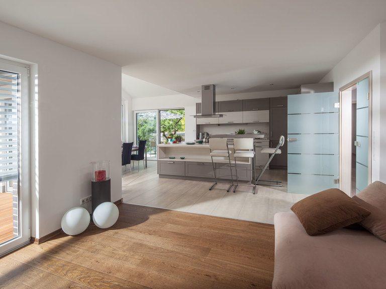 Musterhaus Riedel - offener Wohnraum