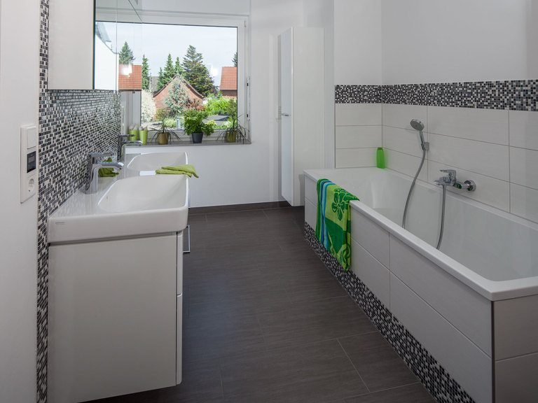 Musterhaus Riedel - Badezimmer