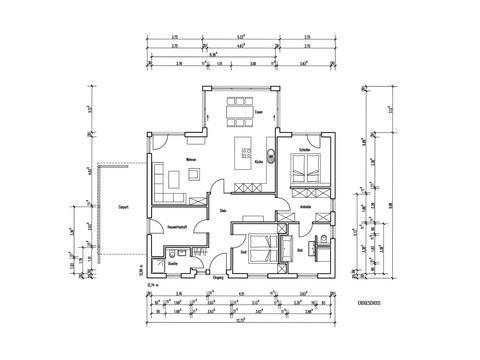 Musterhaus Riedel - Baumeister-Haus - Grundriss
