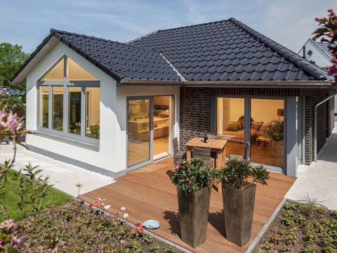 Musterhaus Riedel - Terrasse