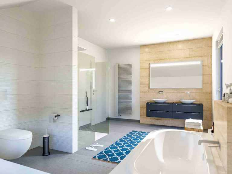 Musterhaus Selection - Schwabenhaus Badezimmer