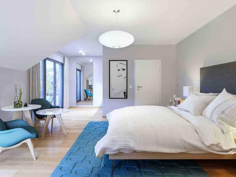 Musterhaus Selection - Schwabenhaus Schlafzimmer