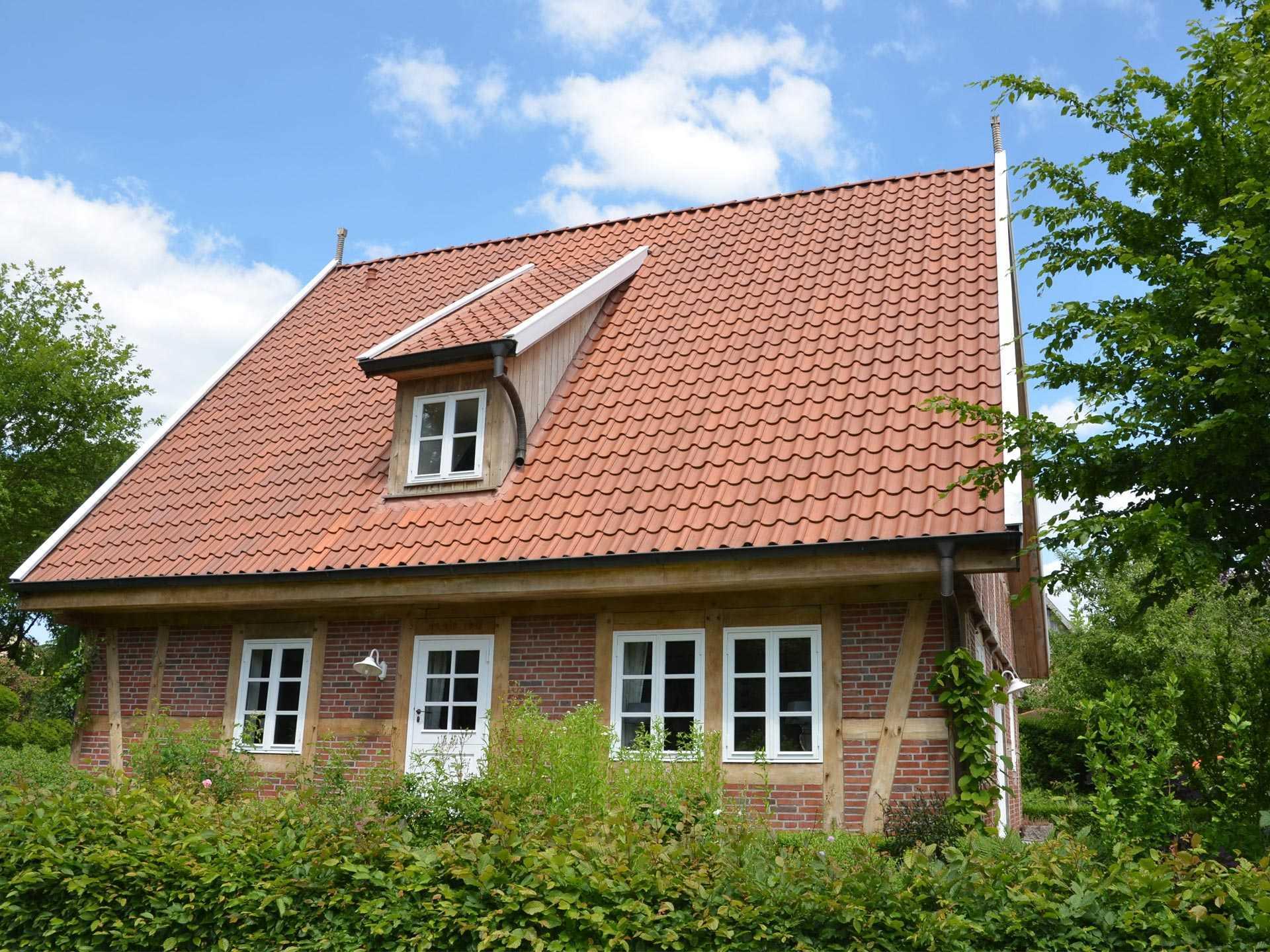 Musterhaus melle deutsche landhaus klassiker for Landhaus bauen