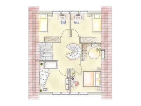 Musterhaus Melle - Deutsche Landhaus Klassiker - OG