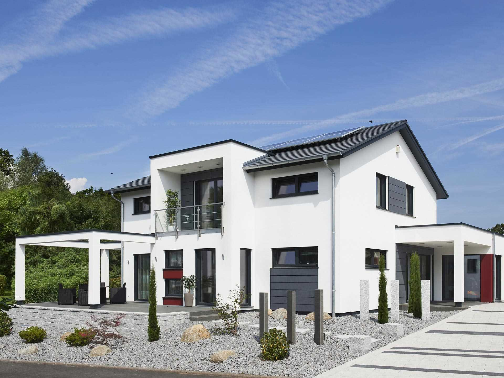 Musterhaus innovation r bad vilbel rensch haus for Musterhaus modern