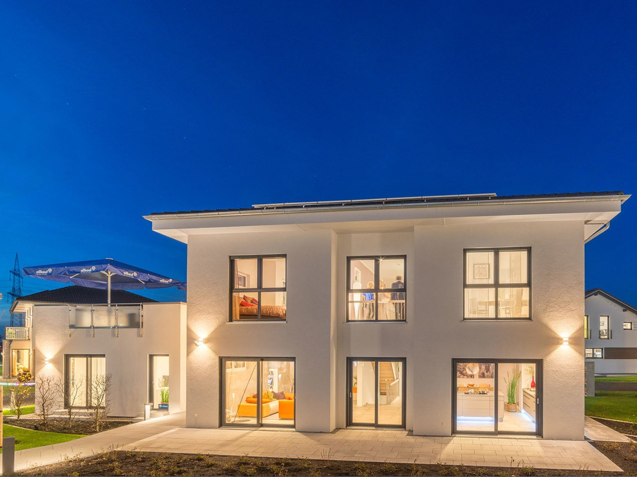 allkauf haus Musterhaus City Villa 1 Ansicht 2