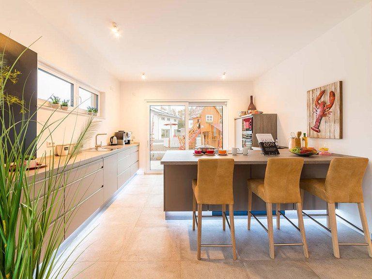 allkauf haus Musterhaus City Villa 1, Küche
