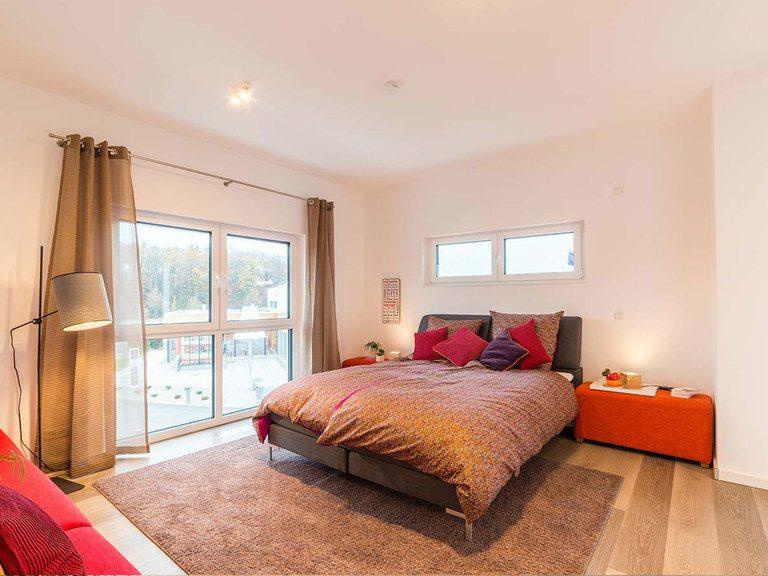 allkauf haus Musterhaus City Villa 1, Schlafzimmer