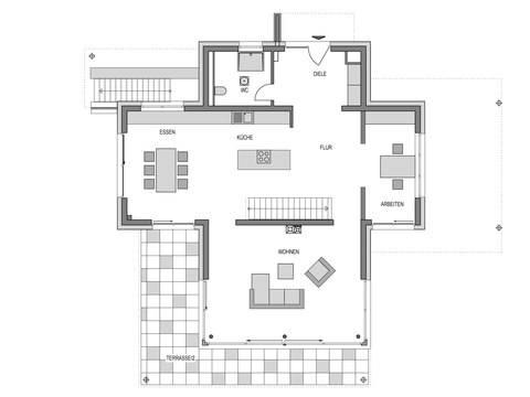 Musterhaus Eiche - Heinz von Heiden - Grundriss EG