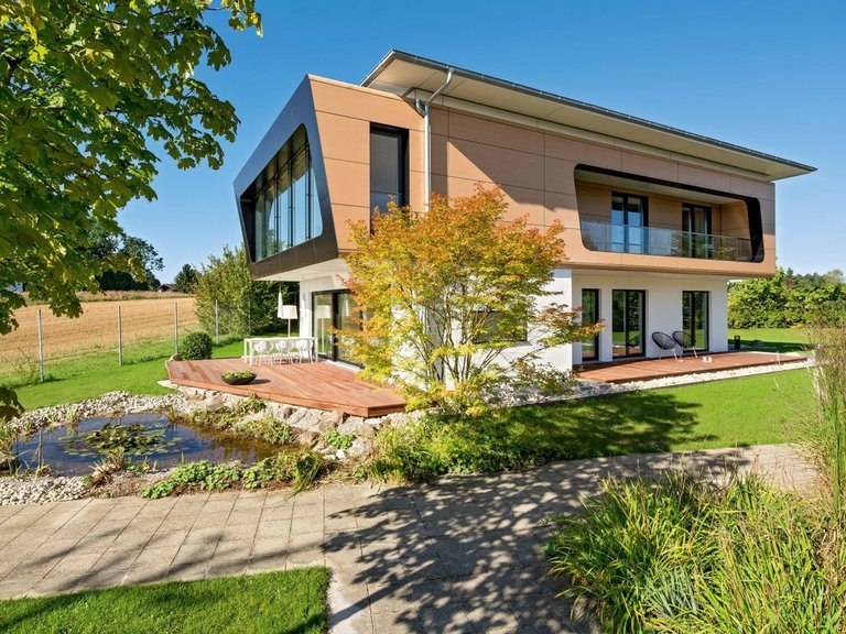 Musterhaus Ambienti+ - Regnauer Hausbau, Ansicht 2