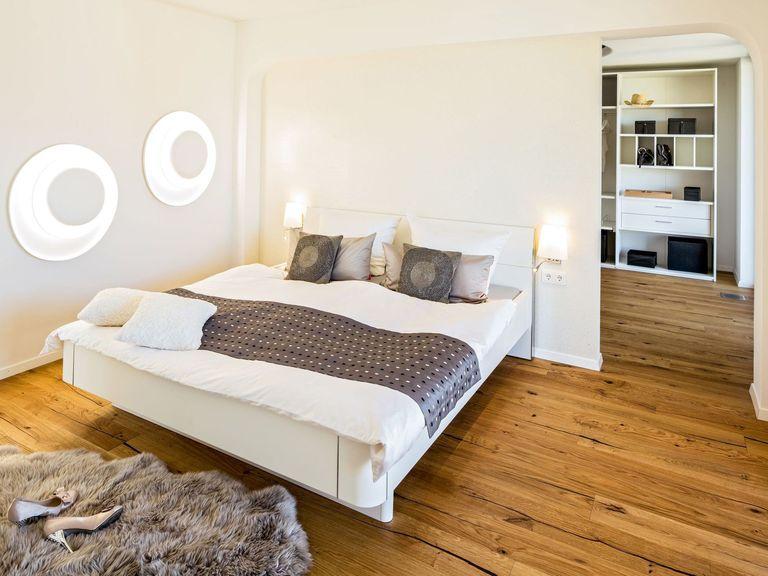 Musterhaus Ambienti+ - Regnauer Hausbau, Schlafzimmer