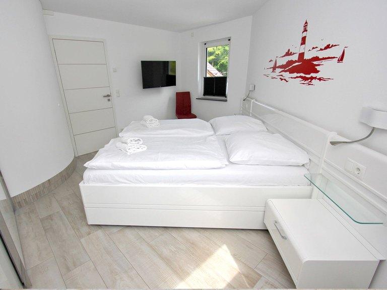 Musterhaus Leuchtfeuer - Ohrdrufer Hausbau, Schlafzimmer
