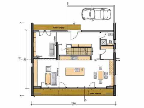 Musterhaus Functionality - Sonnleitner Holzbauwerke - EG