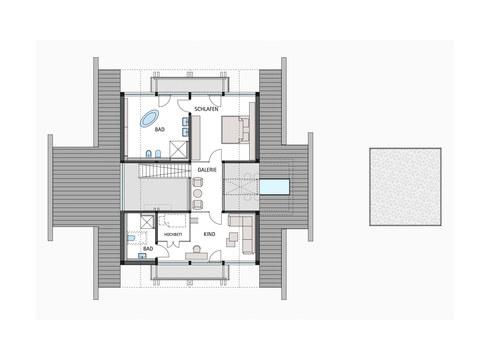 Musterhaus HUF Haus ART 4 - HUF HAUS, OG