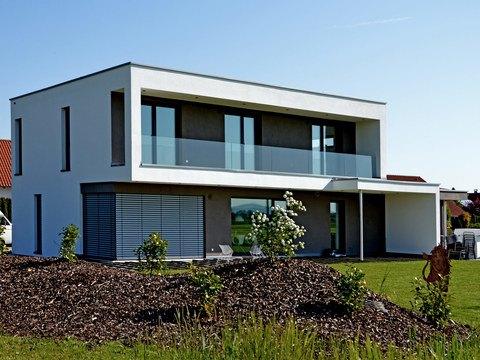 Musterhaus Holzbau Kielwein. Ansicht 2
