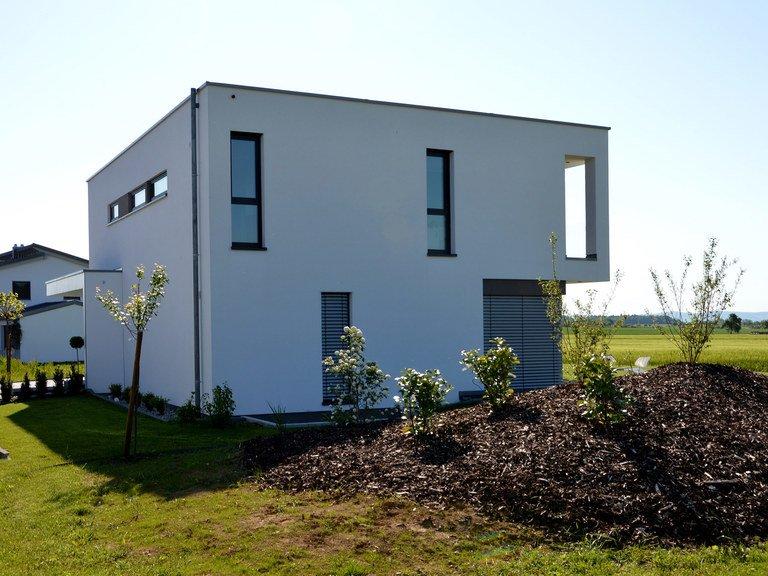 Musterhaus Holzbau Kielwein. Ansicht 3