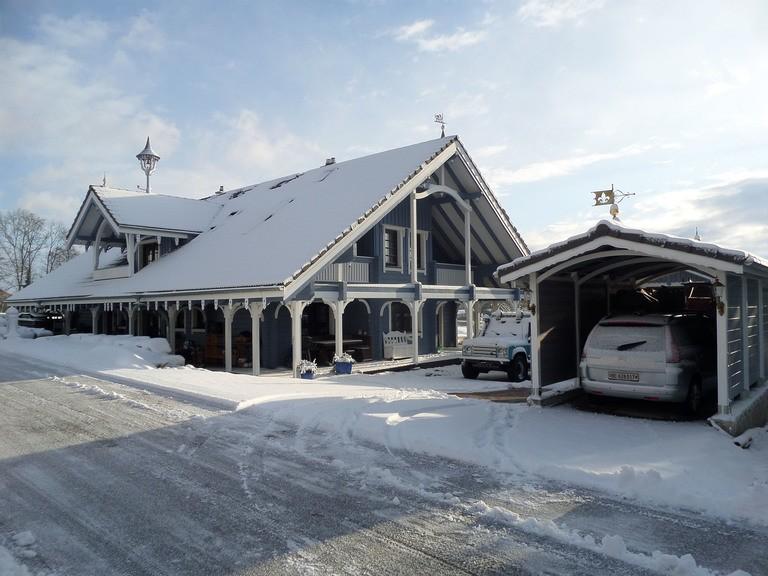 Haus Schweiz, Außenansicht 2