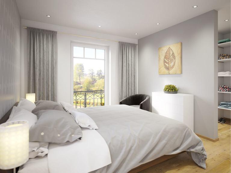 Stadtvilla Clou 135 - Schlafzimmer