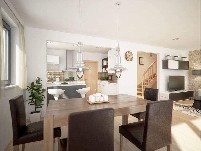 Doppelhaushälfte Clou 136 - Wohnbereich