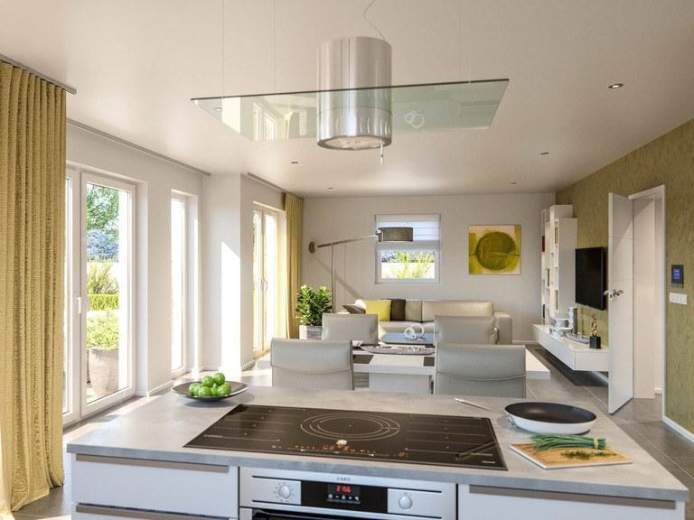 Einfamilienhaus Clou 169 - Wohnbereich