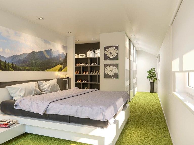 Einfamilienhaus Clou 174 - Schlafzimmer