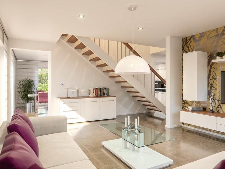Einfamilienhaus Clou 174 - Wohnbereich