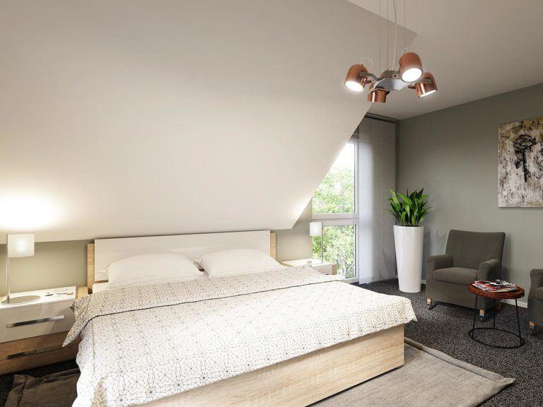 Einfamilienhaus Clou 123 - Schlafzimmer