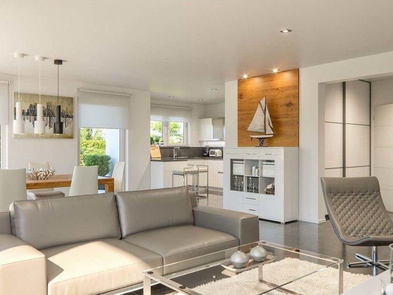 Einfamilienhaus Clou 202 - Wohnbereich