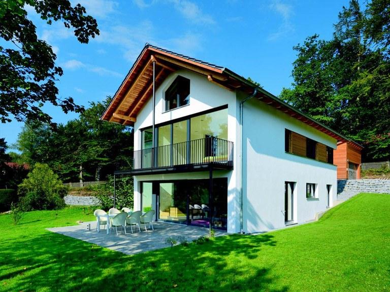 Haus Quadfass - Gruber Holzhaus Ansicht 2