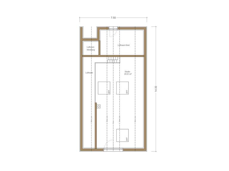 Haus Quadfass - Grundriss EG