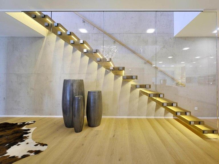 Haus Reichenbach - Haustreppe
