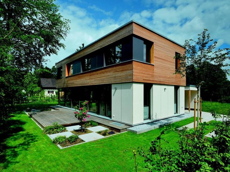 Haus Schindler - Gruber Holzhaus Ansicht 2