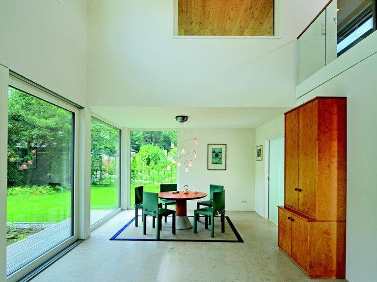 Haus Schindler - Gruber Holzhaus Wohnbereich